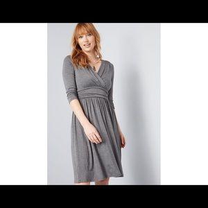 ModCloth Keep it Simple Knit Dress.